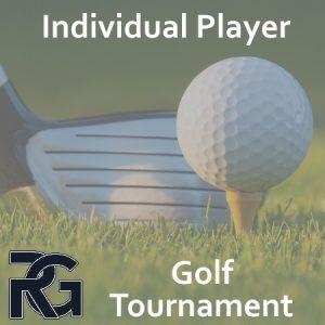 Golf Tournament – Individual Player
