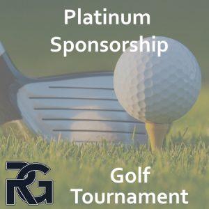 Golf Tournament – Platinum Sponsorship